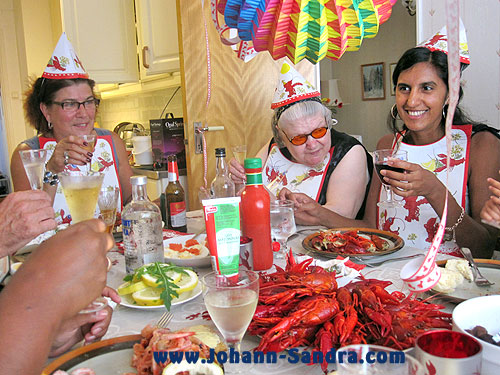 Sweden Crawfish Party