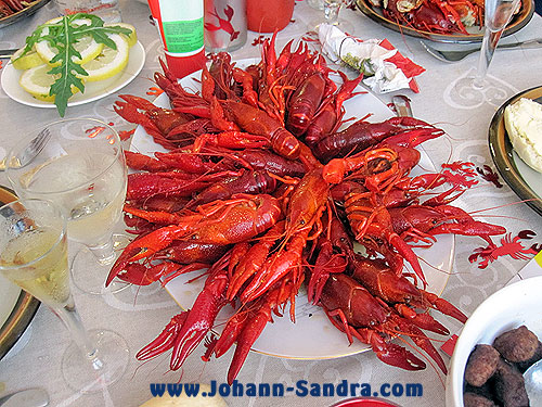 Swedish Kräftor (Crawfish)