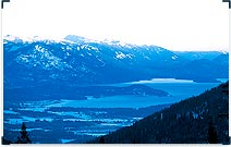 Lake Pend Oreille From Schweitzer Mountain