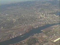 An Aerial View of Oakland