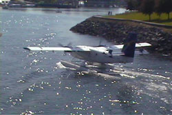 Seaplanes are a major source of travel in Victoria.
